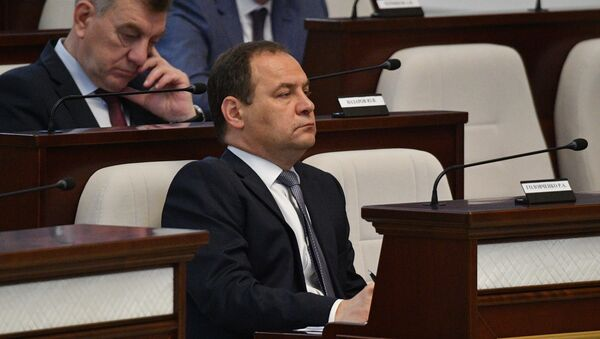 Премьер-министр Беларуси Роман Головченко - Sputnik Беларусь