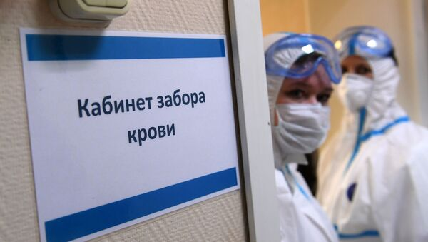 Желающих пройти тест на наличие антител оказалось ожидаемо много - Sputnik Беларусь