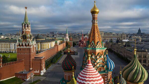 Купола Храма Василия Блаженного на Красной площади в Москве - Sputnik Беларусь