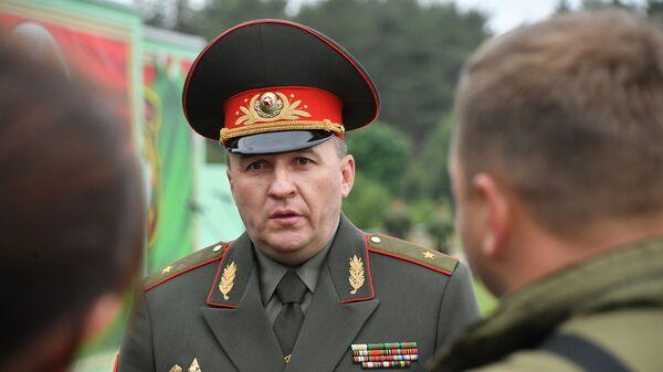 Міністр абароны Беларусі Віктар Хрэнін - Sputnik Беларусь