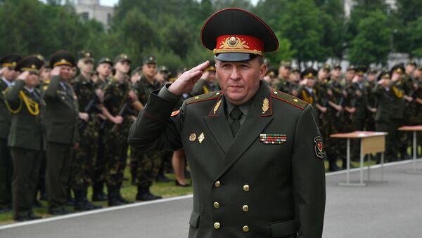 Министр обороны Виктор Хренин  - Sputnik Беларусь