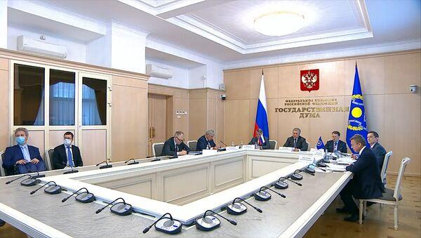 Пандемия и терроризм: Госдума призвала ОДКБ усилить реакцию на новые угрозы - Sputnik Беларусь