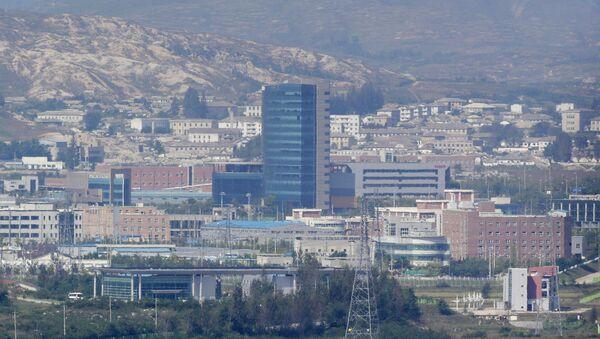 Офис межкорейской связи в Кэсоне - Sputnik Беларусь