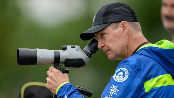 Старший тренер мужской команды Андрей Падин - Sputnik Беларусь