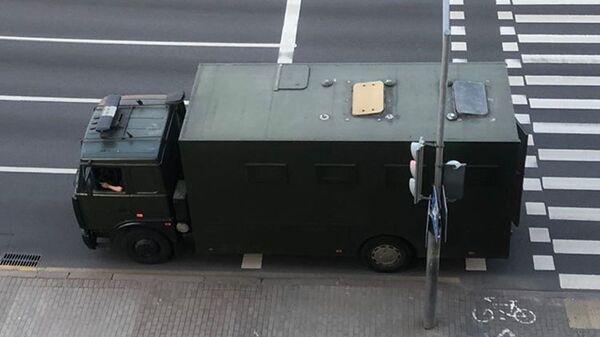 Автозак в Минске - Sputnik Беларусь