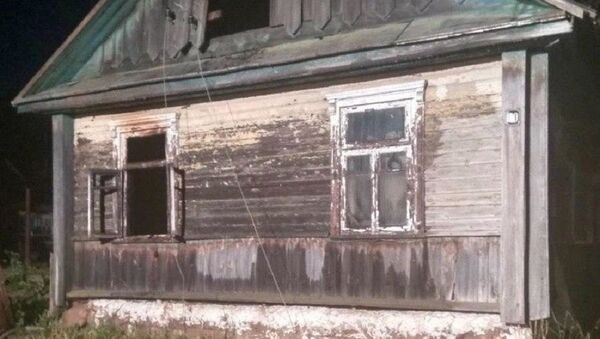 Последствия пожара в Дзержинске - Sputnik Беларусь