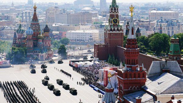 Военный парад в ознаменование 75-летия Победы на Красной площади - Sputnik Беларусь