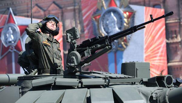 Ваенны парад у азнаменаванне 75-годдзя Перамогі - Sputnik Беларусь