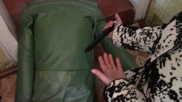 Следственный эксперимент на месте убийства в Слуцком районе - Sputnik Беларусь