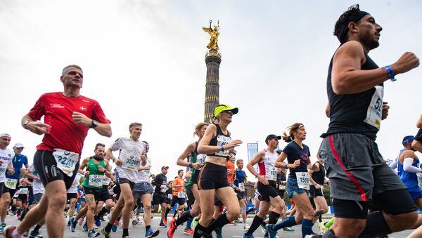 Берлинский марафон, архивное фото - Sputnik Беларусь