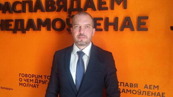Пресс-секретарь посольства РФ Алексей Маскалев - Sputnik Беларусь