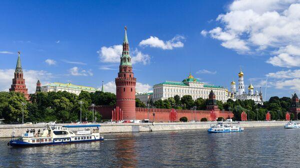 Від на маскоўскі Крэмль з боку Масквы-ракі - Sputnik Беларусь