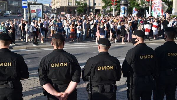 Акция солидарности в Минске - Sputnik Беларусь