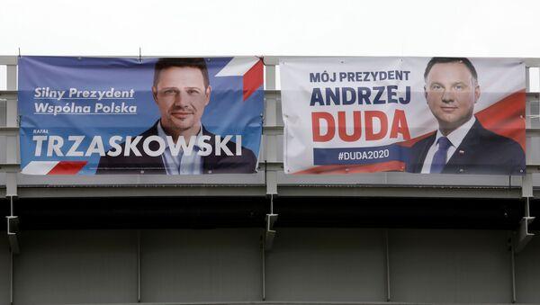 Главные кандидаты на пост президента Польши - Рафал Тшасковский и Анджей Дуда - Sputnik Беларусь