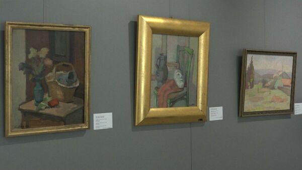 Пакуль суд ды справа: у галерэі Белгазпрамбанка выставілі Любіча - Sputnik Беларусь
