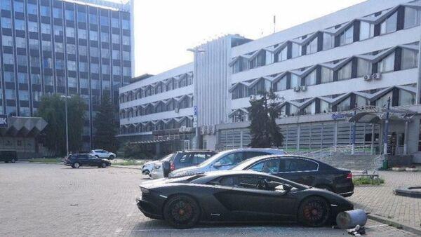 Пьяный россиянин разбил Lamborghini в Минске, видео - Sputnik Беларусь