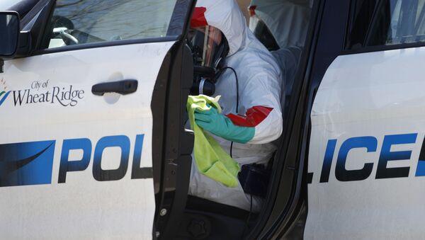 Автомобиль полиции в США - Sputnik Беларусь
