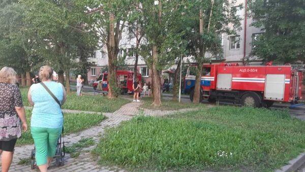 Квартира горела в Витебске - Sputnik Беларусь