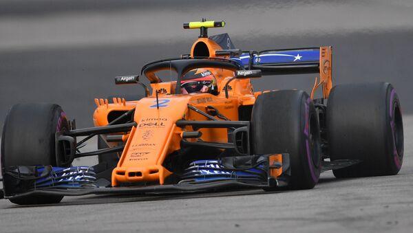 Болид команды McLaren, архивное фото - Sputnik Беларусь
