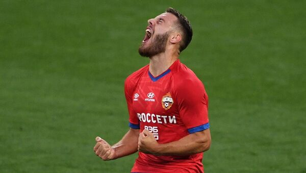 Игрок ЦСКА Никола Влашич - Sputnik Беларусь