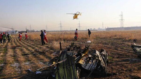 Украинский пассажирский самолет потерпел крушение в Иране - Sputnik Беларусь