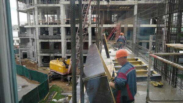 Строительство центра гибридной хирургии в Минске - Sputnik Беларусь